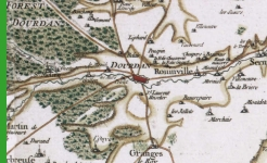 Carte de Cassini  -  Dourdan